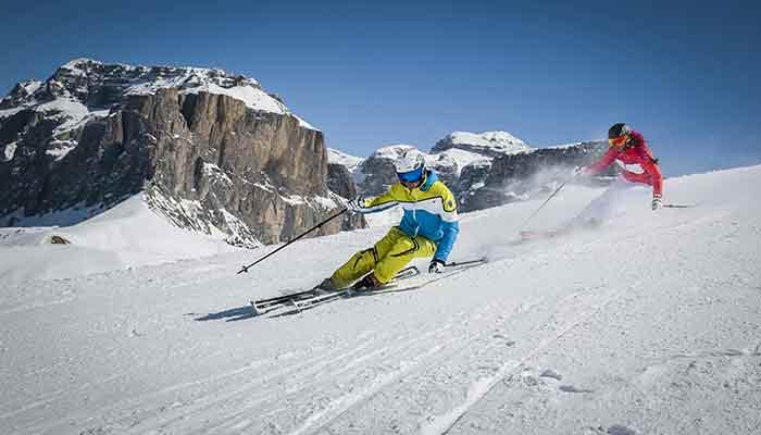 Skiing in Trentino