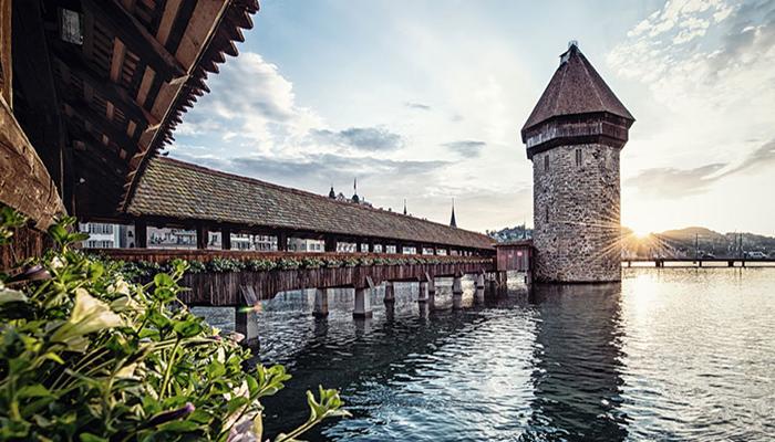 Chapel-Bridge in Luzern