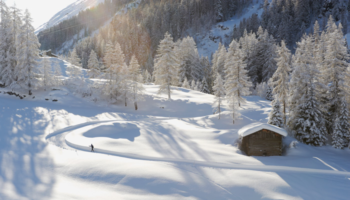 Winter in Davos