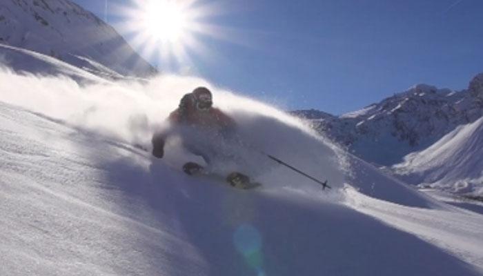 Skiing in Rhone Alpes